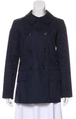 Louis Vuitton Short Double Breasted Trench Coat