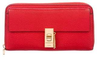 Chloé Leather Drew Wallet