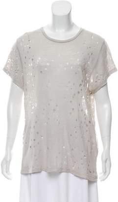 IRO Sija Distressed T-Shirt