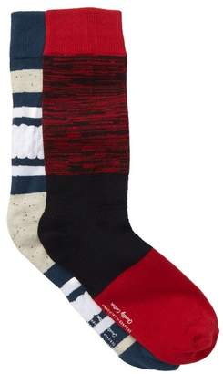Richer Poorer Crew Socks - Pack of 2