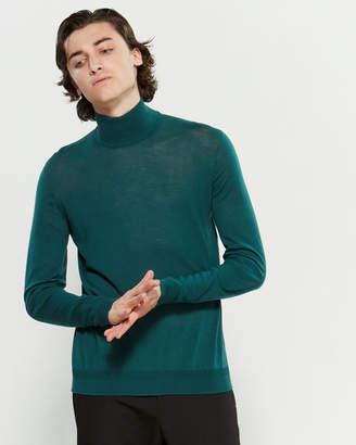 Roberto Collina Ribbed Turtleneck Long Sleeve Sweater