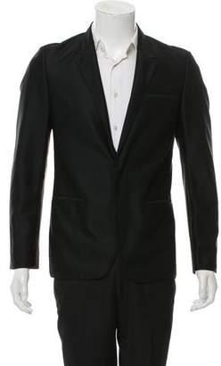 Calvin Klein Collection Woven Two-Button Blazer