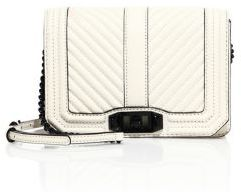 Rebecca Minkoff Love Small Chevron Quilted Leather Crossbody Bag $195 thestylecure.com