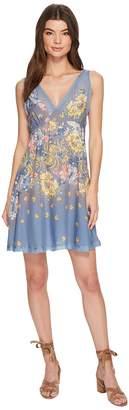 Free People Longwood Printed Slip Dress Women's Dress