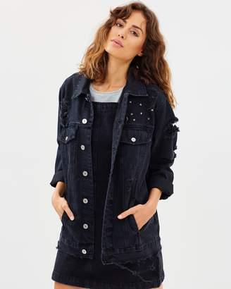 A Drew Oversized Denim Jacket