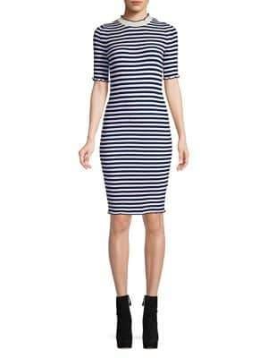 Dorothy Perkins Lettuce Stripe Dress
