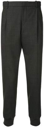 Wooyoungmi tapered zip side trousers