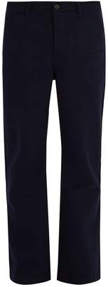 Acne Studios Workwear straight-cut denim chino trousers