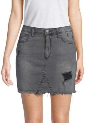 Joe's Jeans Rachel High-Waist A-Line Denim Skirt