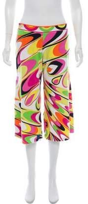 Emilio Pucci Mid-Rise Printed Culottes