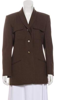 Aquascutum London Virgin Wool Long Sleeve Jacket