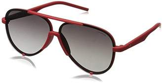 Polaroid Unisex PLD 17/S 8W ABA Sunglasses, Red Grey Sf Pz