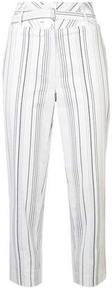 Robert Rodriguez striped tapered trousers