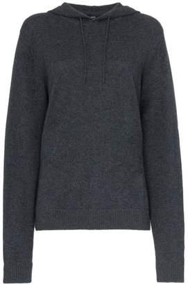 Onia Jamie cactus knit hooded jumper