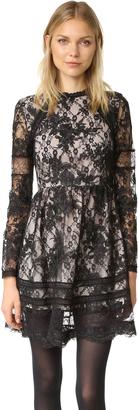 alice + olivia Janae Dress $485 thestylecure.com
