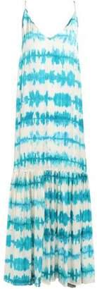 Leone We Are Elke Silk-satin Maxi Slip Dress