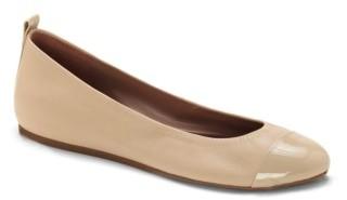 Women's Ed Ellen Degeneres Lilliane Cap Toe Ballet Flat $88.95 thestylecure.com