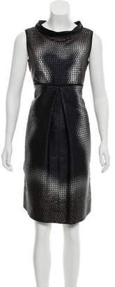 Prada Knee-Length Sleveless Dress