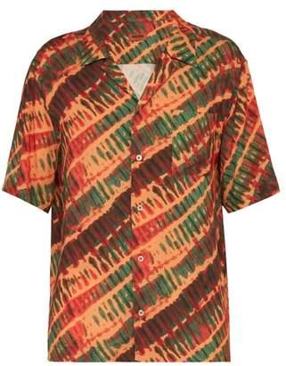 Missoni Tie Dye Print Shirt - Mens - Orange