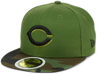 New Era Boys' Cincinnati Reds Authentic Collection 59FIFTY Fitted Cap