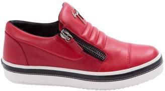 Giuseppe Zanotti Leather low trainers