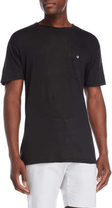 Todd Snyder Linen Patch Pocket Tee