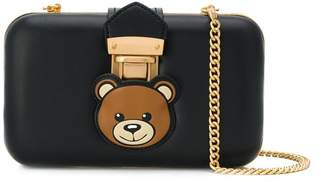 Moschino Teddy Pocket clutch bag