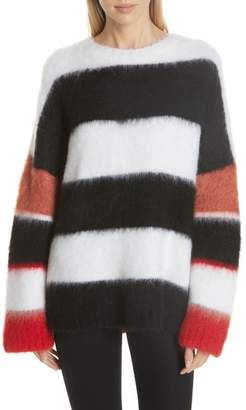 Cinq à Sept Damiana Mixed Stripe Sweater