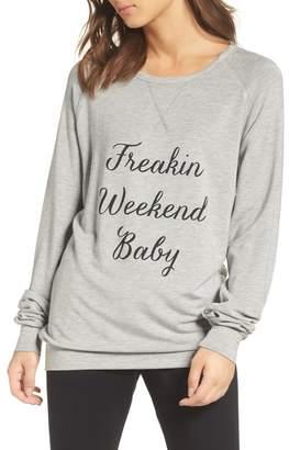 The Laundry Room Freakin' Weekend Cozy Lounge Sweatshirt
