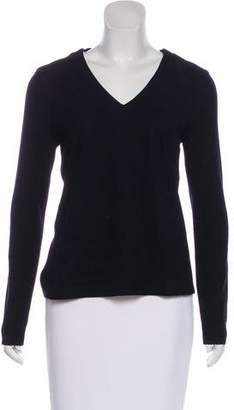 Tory Burch Long Sleeve Wool-Blend Sweater