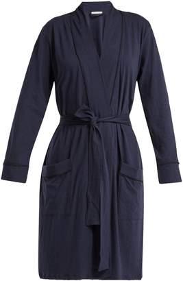 SKIN Omorose pima cotton Robe
