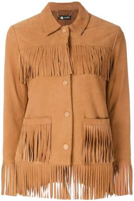 Twin-Set layered fringe jacket