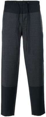 Cédric Charlier embroidered casual trousers