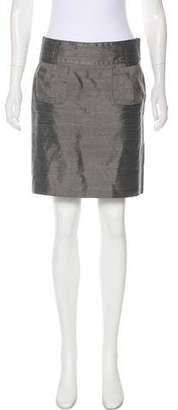 Emporio Armani Silk Mini Skirt