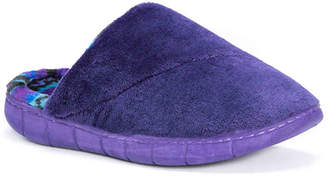 Muk Luks Fleece Scuff Slippers - Women's