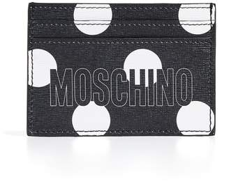 Moschino Polka Dot Card Case