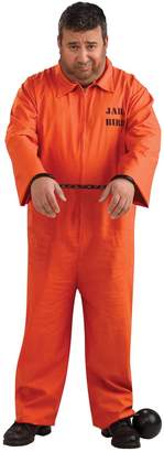 Rubie's Costume Co Prisoner Jumpsuit Costume - Size - Chest Size 46-50