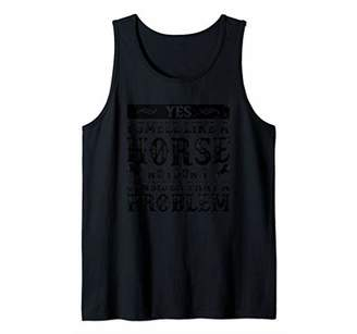 Smell Like A Horse Shirt Riding Racing ZSP Tank Top