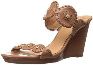 Jack Rogers Women's Layne Wedge Sandal Pewter