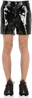 Versace Patent Leather Shorts