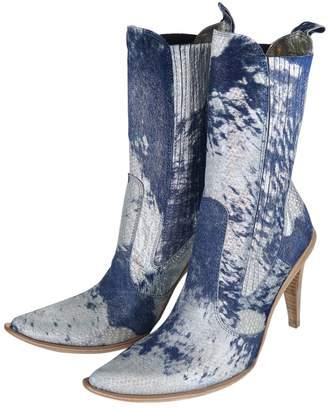 Gianni Bravo Multicolour Cloth Boots