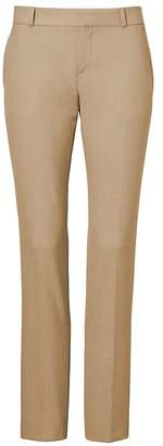 Banana Republic Petite Ryan Slim Straight-Fit Luxe Brushed Twill Pant