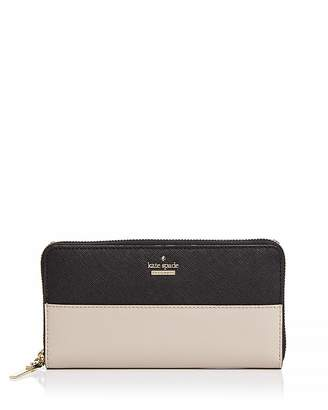 Kate Spade Cameron Street Lacey Color Block Saffiano Leather Wallet