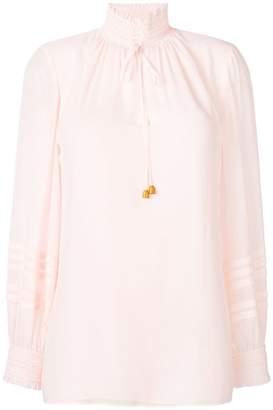 Tory Burch Haley smocked blouse