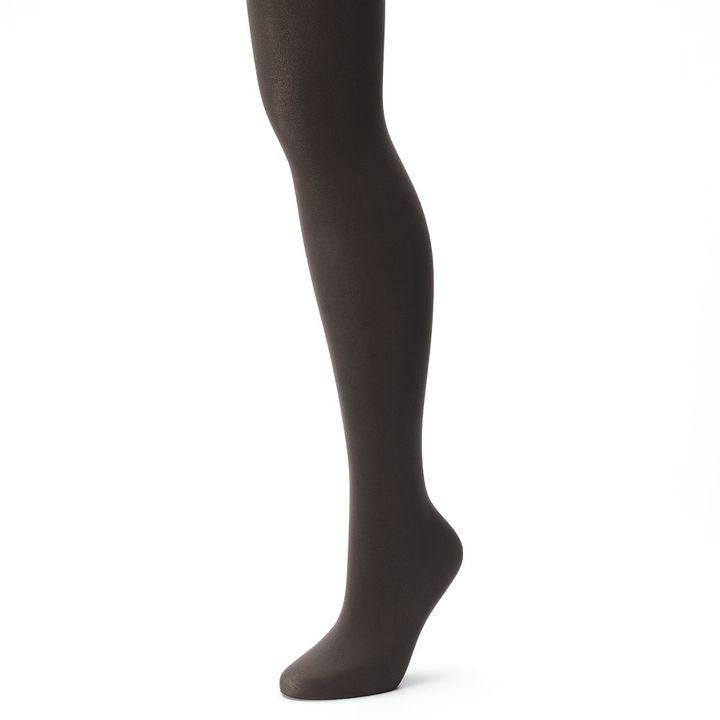 Hanes Women's X-Temp Comfort Stretch Opaque Tights