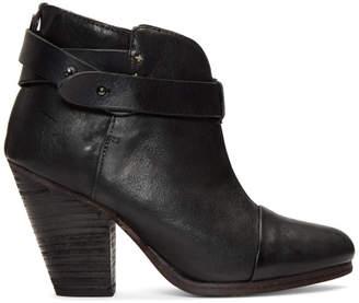 Rag & Bone Black Harrow Boots