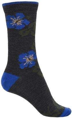 b.ella Marabel Tipped Blossom Socks - Merino Wool, Crew (For Women) $7.99 thestylecure.com