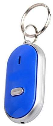 Generic Portable Anti-Lost Lost Key Locator Finder Keyring Keychain Whistle Beep