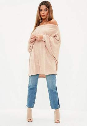 Missguided Brushed Bardot Tunic
