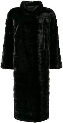 Liska high neck long coat